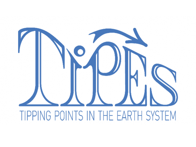 TiPES Project: Tipping Points in the Earth System - Logo