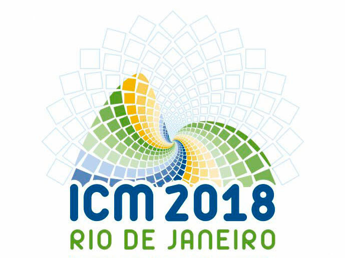 Logo des International Congress of Mathematicians (ICM) 2018 in Rio de Janeiro - Logo